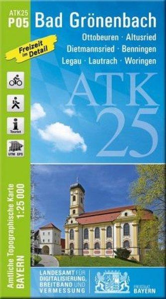 ATK25-P05 Bad Grönenbach (Amtliche Topographische Karte 1:25000)