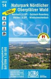 UK50-14 Naturpark Nördlicher Oberpfälzer Wald