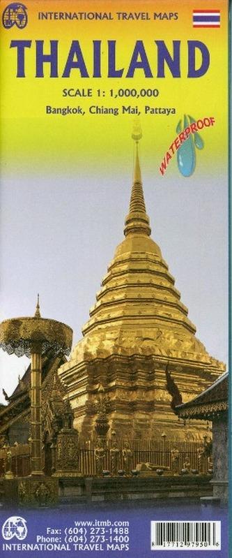 International Travel Map ITM Thailand