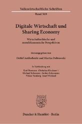 Digitale Wirtschaft und Sharing Economy