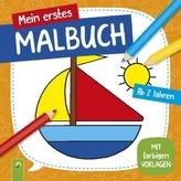 Mein erstes Malbuch (Boot)