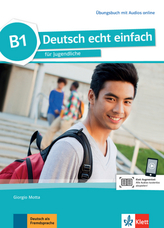 B1 - Übungsbuch mit Audios online