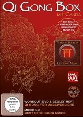 Qi Gong Box, 1 DVD + 1 Audio-CD