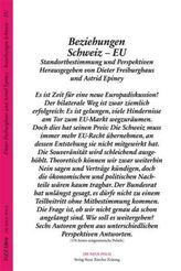 Beziehungen Schweiz - EU
