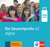 Die Deutschprofis A2 digital, USB-Stick