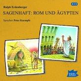Sagenhaft: Rom und Ägypten, 4 Audio-CDs