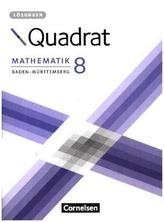 8. Schuljahr - Lösungen zum Schülerbuch