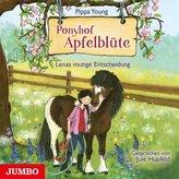 Ponyhof Apfelblüte - Lenas mutige Entscheidung, 1 Audio-CD