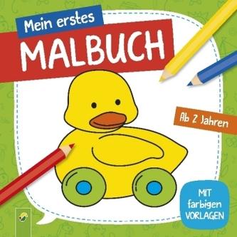 Mein erstes Malbuch (Ente)