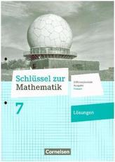 7. Schuljahr - Lösungen zum Schülerbuch