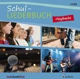 Schul-Liederbuch für allgemein bildende Schulen, Playbacks, 3 Audio-CDs