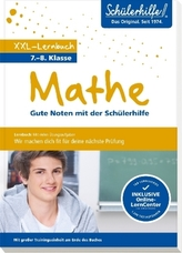 XXL-Lernbuch Mathe 7./8. Klasse