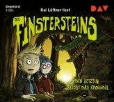 Die Finstersteins - Den Letzten beißt das Krokodil!, 3 Audio-CDs