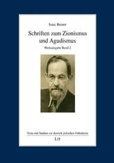 Schriften zum Zionismus und Agudismus