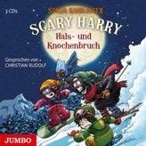 Scary Harry - Hals- und Knochenbruch, 3 Audio-CD