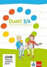 3./4. Schuljahr, 3 Audio-CDs und 1 DVD