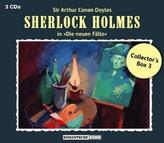 Sherlock Holmes Collector's Box. Box.3, 3 Audio-CDs