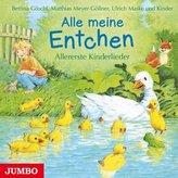 Alle meine Entchen - Allererste Kinderlieder, 1 Audio-CD