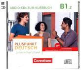 2 Audio-CDs zum Kursbuch. Tl.2