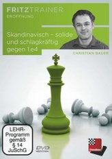 Skandinavisch - solide und schlagkräftig gegen 1.e4, 1 DVD-ROM