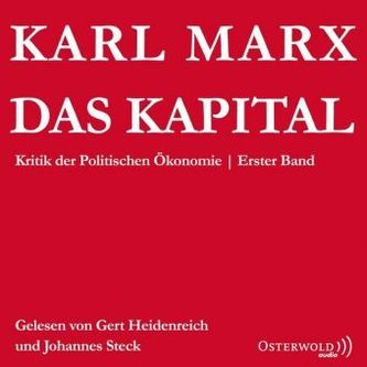 Das Kapital. Bd.1, 6 Audio-CDs