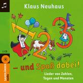 1, 2, 3 - und Spaß dabei!, 1 Audio-CD