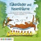 Kükenlieder und Hasenträume. Fröhliche Frühlingslieder und Gedichte, 1 Audio-CD