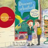 Donnerschnitzel - Mein Opa ist ein Papagei!, 2 Audio-CDs