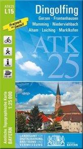 ATK25-L15 Dingolfing (Amtliche Topographische Karte 1:25000)