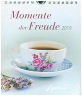 Momente der Freude 2019 - Postkartenkalender