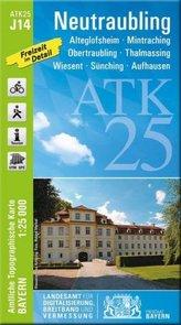 ATK25-J14 Neutraubling (Amtliche Topographische Karte 1:25000)