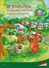 Kasimir & Flora - Lerngeschichten für lange Ohren, 20 Bildtafeln