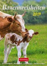 Bauernweisheiten 2019