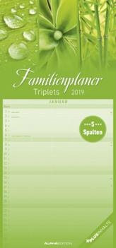 Familienplaner Triplets 2019