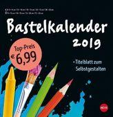 Bastelkalender schwarz groß 2019