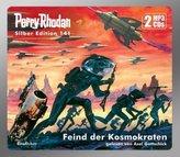 Perry Rhodan Silber Edition - Feind der Kosmokraten, 2 MP3-CDs