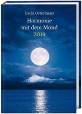 Harmonie mit dem Mond Kalenderbuch A6 2019