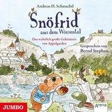 Snöfrid aus dem Wiesental. Das wahrlich große Geheimnis von Appelgarden, 1 Audio-CD