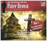 Pater Brown - Box, 3 Audio-CD