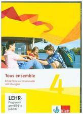 Erklärfilme und Grammatikübungen, CD-ROM