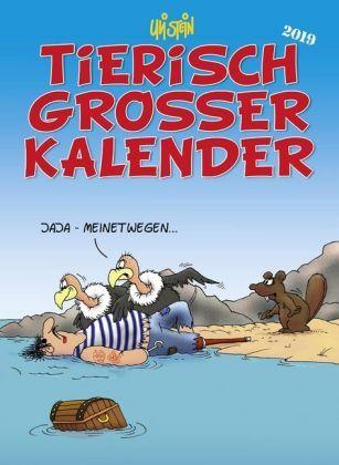 Uli Stein Tierisch Grosser Kalender 2019 Megabucher De