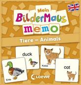 Mein Bildermaus-Memo - Englisch - Tiere - Animals (Kinderspiel)