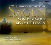 Sagen von Pommern bis Ostpreußen, 1 Audio-CD