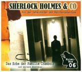 Sherlock Holmes & Co - Die Krimi Box, 3 Audio-CDs