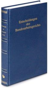 Entscheidungen des Bundesarbeitsgerichts (BAGE). Bd.160