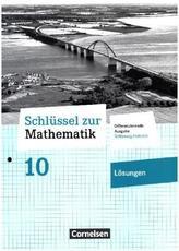 10. Schuljahr - Lösungen zum Schülerbuch