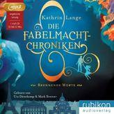 Die Fabelmacht-Chroniken - Brennende Worte, 1 MP3-CD