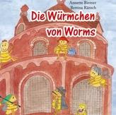 Die Würmchen von Worms, Audio-CD