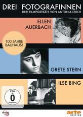 Drei Fotografinnen: Ilse Bing, Grete Stern, Ellen Auerbach, 1 DVD-Video