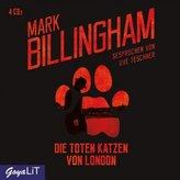 Die Toten Katzen von London, 4 Audio-CDs